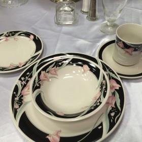 paulette black and ping china set