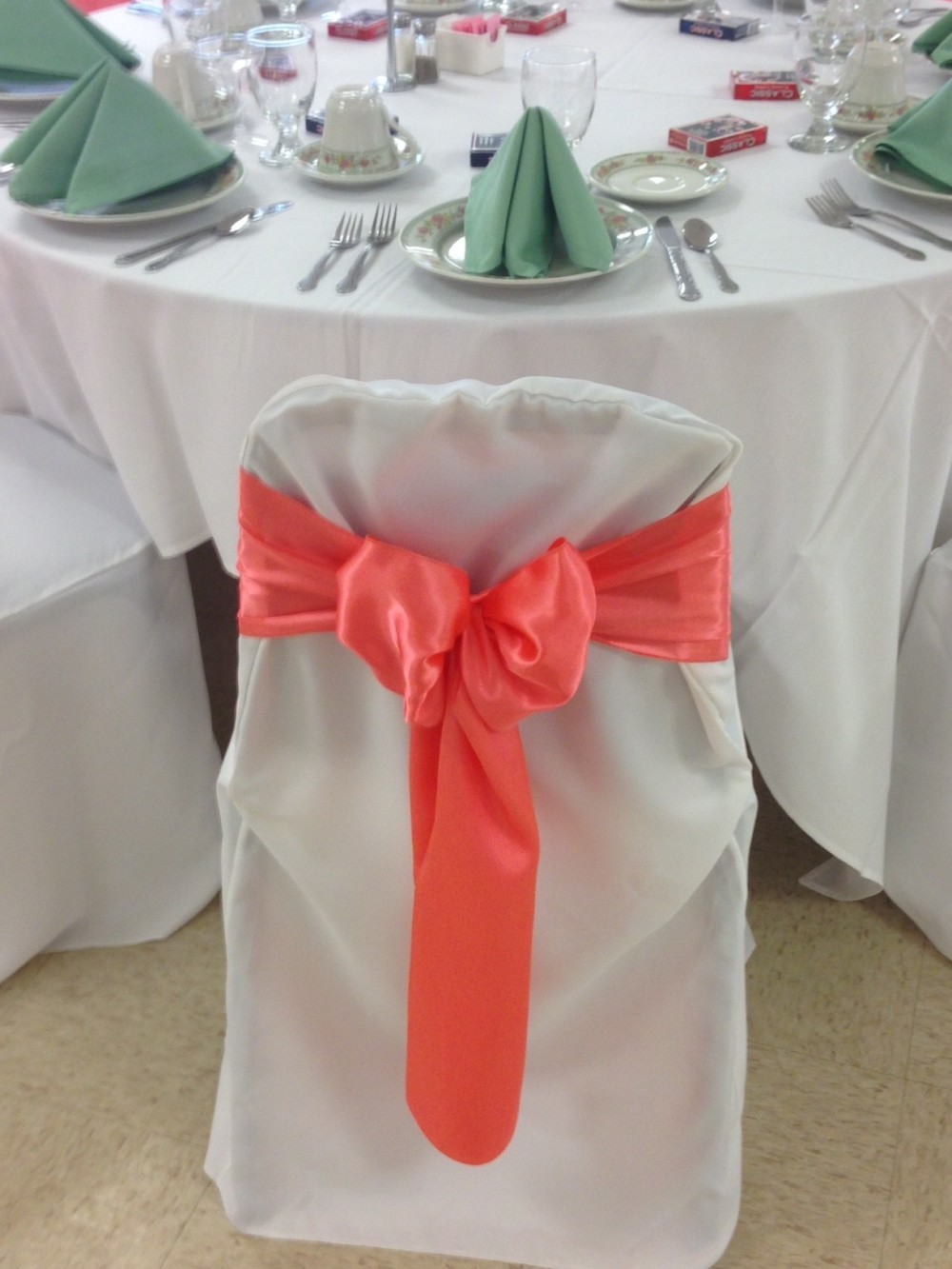 Coral and Mint Wedding Colors 2015