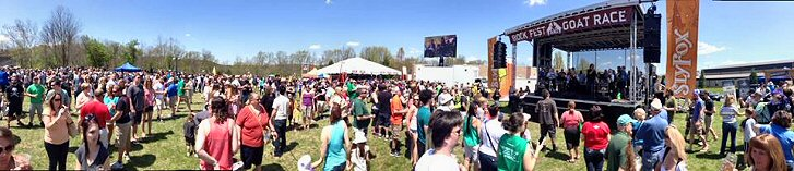 Sly Fox Bock Festival and Goat Race 2015