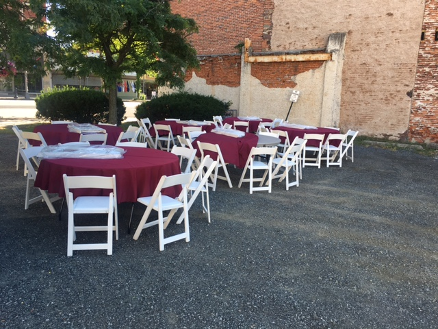 Public Bistro Event Decor