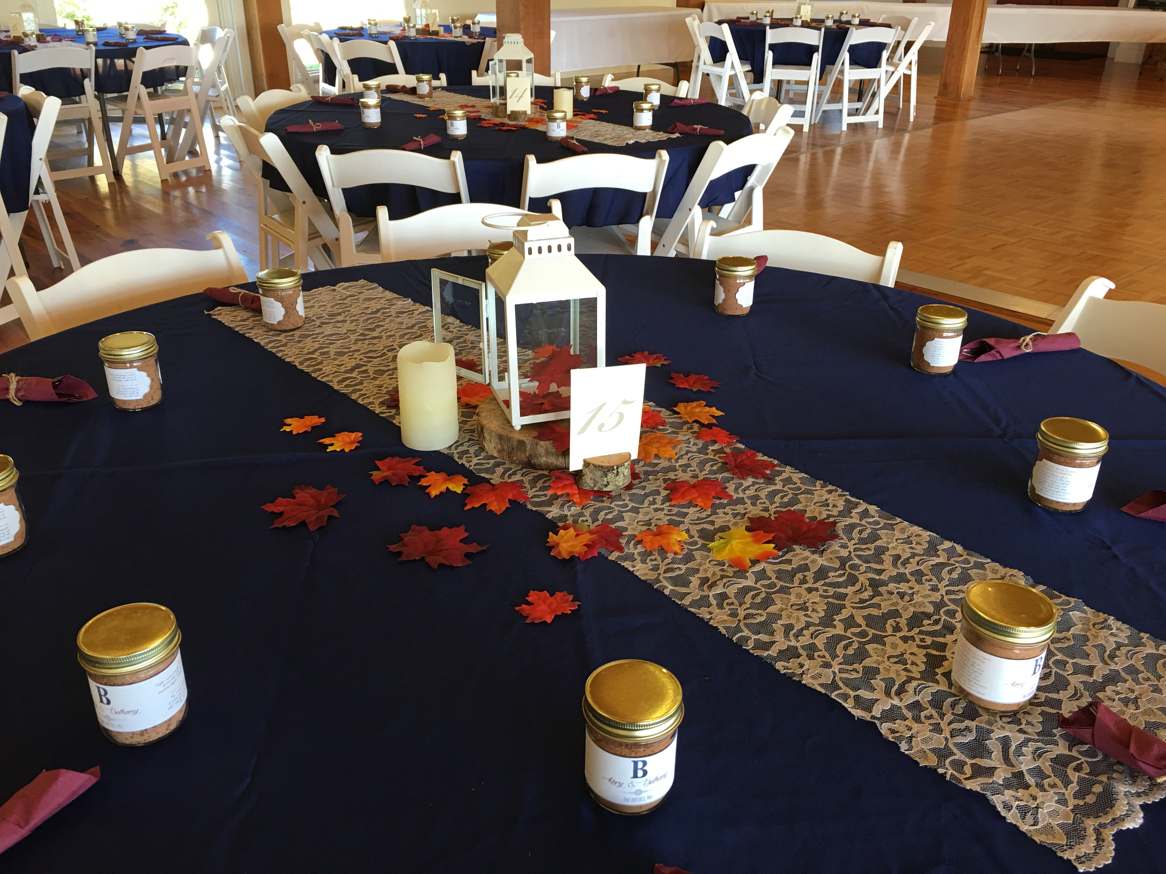 Barn Wedding Fall Decor