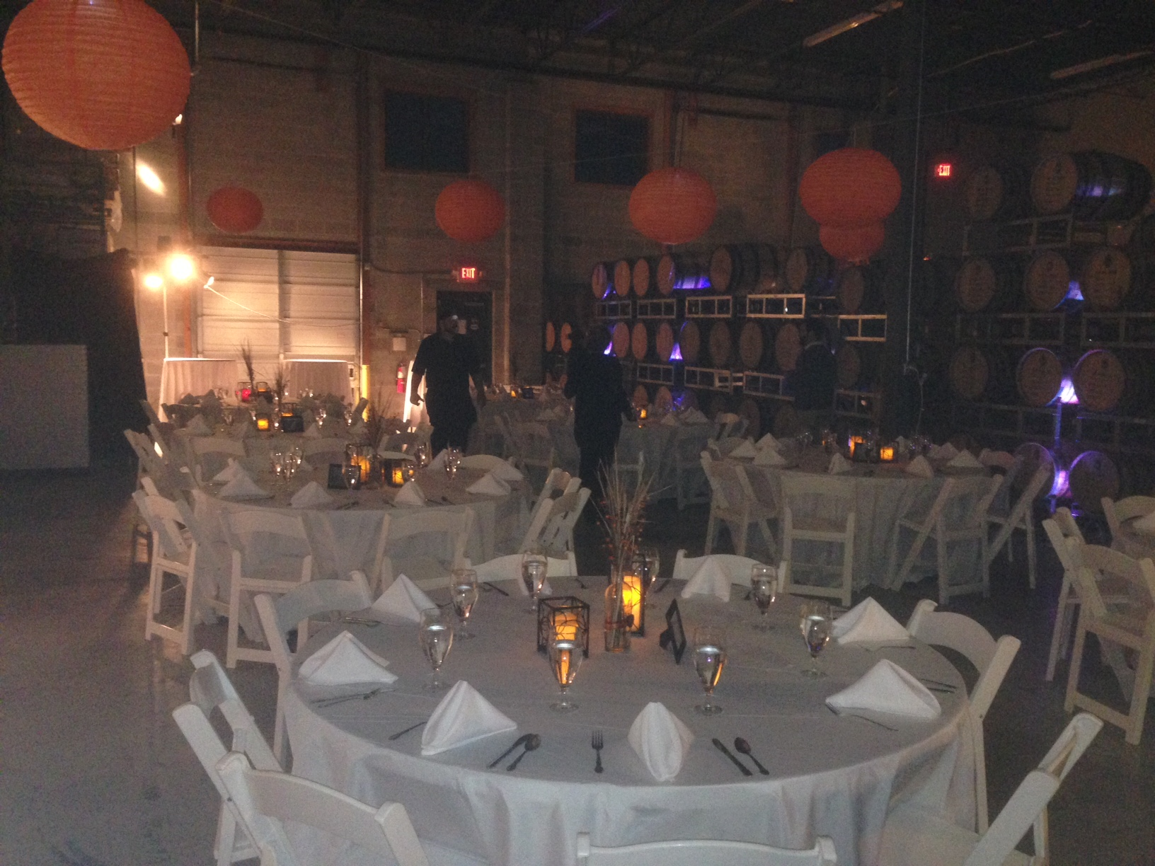 Whiskey Distillery Event Decor