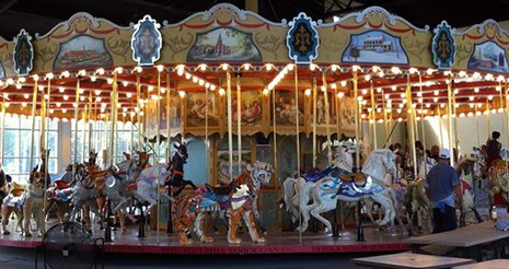 Pottstown Carousel Opens for Large Events